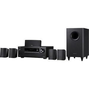 CLIQUE ➤➤ Sistema de Home Theater 5.1 Canais Onkyo HT-S3800 Preto   oferta com preço barato em Promoção no site de loja