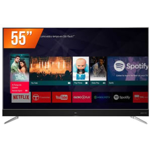 Oferta ➤ Smart TV LED 55 Ultra HD TCL 4K 55C2US HDMI USB Android TV WiFi Integrado Conversor Digital   . Veja essa promoção