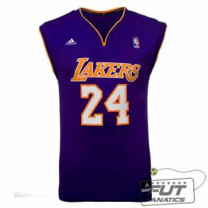 Saiba mais ➤ Regata Adidas NBA LA Lakers Road 24 Bryant