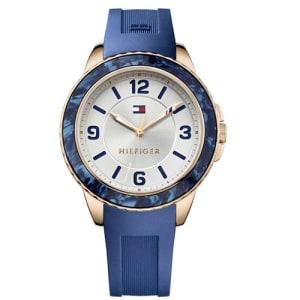 Relógio Tommy Hilfiger Feminino Borracha Azul - 1781539 bf32baeae3