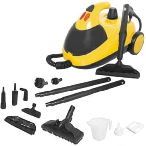 Oferta ➤ Vaporizador e Higienizador VaporClean 1500W com Acessórios para Limpeza e Rodas para Transporte – Intech Machine   . Veja essa promoção