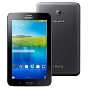 """CLIQUE ➤➤ Tablet Samsung Galaxy Tab E 7.0 WiFi SM-T113NU com Tela 7"""", 8GB, Processador Quad Core de 1.3GHz, Câm. 2MP, AGPS, Bluetooth e Android 4.4 – Preto   oferta com preço barato em Promoção no site de loja"""