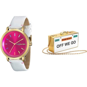 Relógio Feminino Mondaine Analógico Fashion 94767LPMVDH3K1 + Bolsa 1a8d32e87a