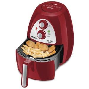 Oferta ➤ Fritadeira Air Fryer Mondial Inox Red Premium AF-14 – Vermelho / Inox   . Veja essa promoção