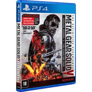 CLIQUE ➤➤ Game – Metal Gear Solid V: The Definitive Experience – PS4   oferta com preço barato em Promoção no site de loja