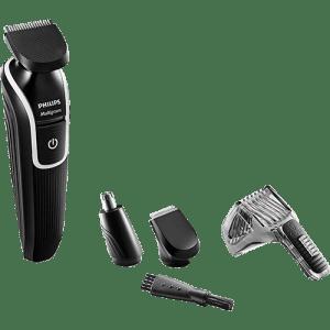 Oferta ➤ Kit Aparador de Pelos Philips Multigroom QG3339/15 Bateria Recarregável 12W   . Veja essa promoção