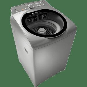 CLIQUE ➤➤ Lavadora de Roupas Brastemp Ative BWG11 – 11 Kg com Sistema Fast e Dispenser Smart Flex – Inox   oferta com preço barato em Promoção no site de loja