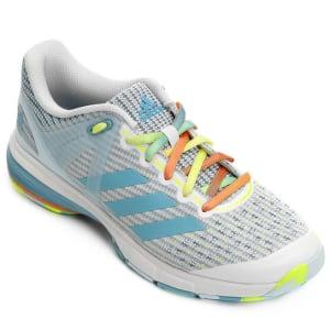 CLIQUE ➤➤ Tênis Adidas Court Stabil – Feminino   oferta com preço barato em Promoção no site de loja