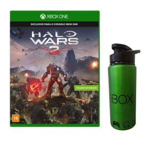 CLIQUE ➤➤ Jogo Halo Wars 2 + Squeeze de Metal Microsoft Xbox   oferta com preço barato em Promoção no site de loja