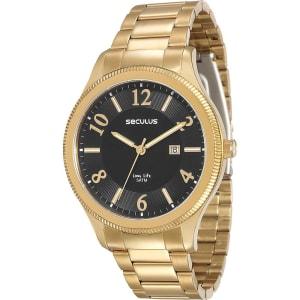c6d0bee0905 Relógio Masculino Seculus Analógico com Calendário Clássico 23524gpsvda1