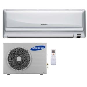 CLIQUE ➤➤ Ar-Condicionado Split Samsung Max Plus AS12UWBUXAZ Frio 12.000 BTUs – 220V (Unidade interna e externa)   oferta com preço barato em Promoção no site de loja