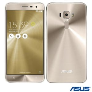 CLIQUE ➤➤ Zenfone 3 Dourado Asus, com Tela de 5.5, 4G, 64 GB e Camera de 16 MP – ZE552KL – UXZE552KLDRD   oferta com preço barato em Promoção no site de loja