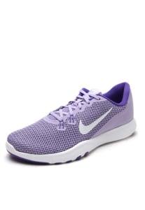 CLIQUE ➤➤ Tênis Nike W Nike Flex Trainer 7 Roxo/Branco   oferta com preço barato em Promoção no site de loja
