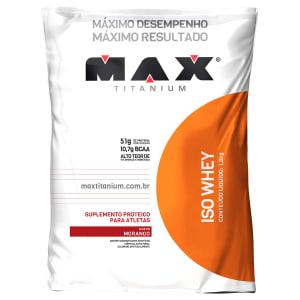 CLIQUE ➤➤ ISO WHEY 1,8 KG REFIL – MAX TITANIUM   oferta com preço barato em Promoção no site de loja