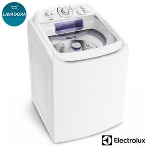 Saiba mais ➤ Lavadora de Roupas Electrolux 16 Kg Branca com 12 Programas de Lavagem – LAP16 – EXLAP16