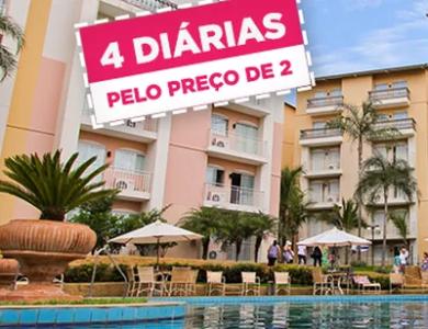 Tuti Resort - Thermas de Olímpia - Diárias Casal por R$47 ficando 4 noites! + Cupom de 11% de Desconto!