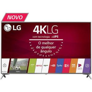 Saiba mais ➤ Smart TV LED 43″ LG 43UJ6525 Ultra HD 4K com Conversor Digital 4 HDMI 2 USB WebOS 3.5 Painel Ips HDR e Magic Mobile Connection