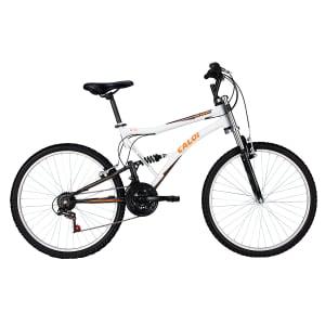 CLIQUE ➤➤ Bicicleta Caloi Aro 26 – 21 Marchas XRT 2015 Mountain Bike Branca   oferta com preço barato em Promoção no site de loja