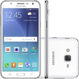 CLIQUE ➤➤ Smartphone Samsung Galaxy J7 Duos J700M Desbloqueado Branco   oferta com preço barato em Promoção no site de loja