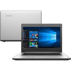 CLIQUE ➤➤ Notebook Lenovo Ideapad 310 Intel Core 7 i3-6006u 4GB 1TB Tela 14″ LED Windows 10 – Prata   oferta com preço barato em Promoção no site de loja