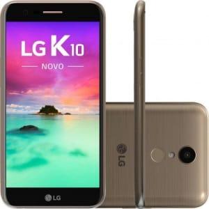 CLIQUE ➤➤ Smartphone LG K10 Novo 2017 4G LGM250DS 32GB Desbloqueado Dourado   oferta com preço barato em Promoção no site de loja