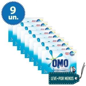 CLIQUE ➤➤ LEVE + PAGUE -: 9 Sabão em Pó Omo Puro Cuidado 2KG   oferta com preço barato em Promoção no site de loja