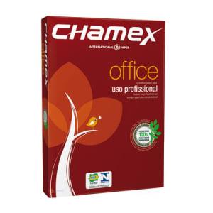 3 Pacotes - Papel Sulfite A4 Chamex Office PCT COM 500 FLS