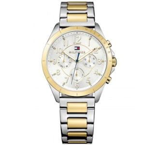 Relógio Tommy Hilfiger Feminino Aço Prateado e Dourado - 1781607 5d94e8408f
