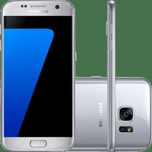 CLIQUE ➤➤ Smartphone Samsung Galaxy S7 Android 6.0 Tela 5.1″ 32GB 4G Câmera 12MP – Prata   oferta com preço barato em Promoção no site de loja