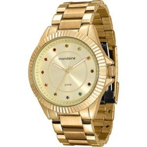 CLIQUE ➤➤ Relógio Feminino Mondaine Analógico Casual 76498LPMVDE1   oferta com preço barato em Promoção no site de loja