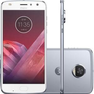 Oferta ➤ Smartphone Motorola Moto Z2 Play Dual Chip Android 7.1.1 Nougat Tela 5,5″ Octa-Core 2.2 GHz 64GB Câmera 12MP – Azul Topázio   . Veja essa promoção