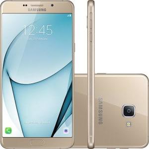 CLIQUE ➤➤ Smartphone Samsung Galaxy A9 Dual Chip Android 6.0 Tela 6″ Octa-Core 1.8 Ghz 32GB 4G Câmera 16MP – Dourado   oferta com preço barato em Promoção no site de loja