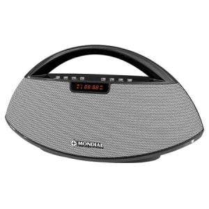 Oferta ➤ Rádio Portátil Mondial Bluetooth Rádio FM Entrada USB e Micro SD – SK-01   . Veja essa promoção