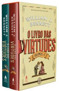 Oferta ➤ Box – o Livro Das Virtudes – 2 Volumes   . Veja essa promoção