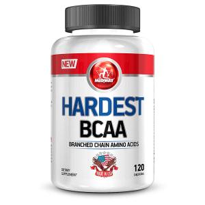 CLIQUE ➤➤ Hardest BCAA USA 120 Caps – Midway   oferta com preço barato em Promoção no site de loja