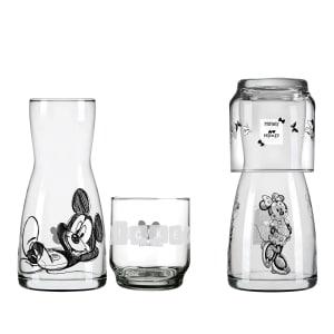 CLIQUE ➤➤ Conjunto Moringa e Copo em Vidro Nadir Disney Minnie e Mickey 4 Peças   oferta com preço barato em Promoção no site de loja