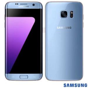 """CLIQUE ➤➤ Samsung Galaxy S7 Edge Azul, com Tela de 5.5"""", 4G, 32 GB e Câmera de 12 MP – SM-G935F – SGG935FAZL   oferta com preço barato em Promoção no site de loja"""