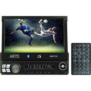 CLIQUE ➤➤ Reprodutor Multimídia AR70 MM730 Tela 7 TV Digital e Bluetooth Preto   oferta com preço barato em Promoção no site de loja