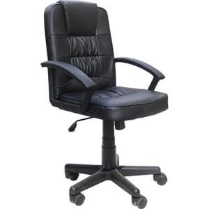 CLIQUE ➤➤ Cadeira Presidente MB-1513 Giratória Base Cromada Preto – Travel Max   oferta com preço barato em Promoção no site de loja