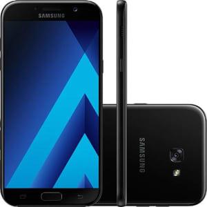 CLIQUE ➤➤ Smartphone Samsung Galaxy A7 Dual Chip Android 6.0 Tela 5.7″ Octa-Core 1.9GHz 32GB 4G Câmera 16MP – Preto   oferta com preço barato em Promoção no site de loja