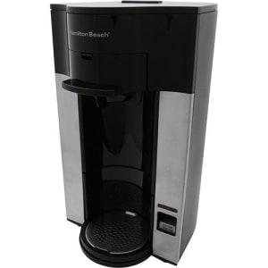 CLIQUE ➤➤ Cafeteira Hamilton Beach Personal Cup 1 Xícara Preto e Prata   oferta com preço barato em Promoção no site de loja
