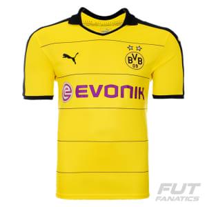 368b75ce59 Camisa Puma Borussia Dortmund Home 2016 - FutFanatics