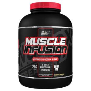 CLIQUE ➤➤ WHEY PROTEIN MUSCLE INFUSION ADVANCED 2,268 KG – NUTREX   oferta com preço barato em Promoção no site de loja