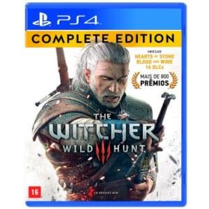 CLIQUE ➤➤ Jogo The Witcher III Wild Hunt – COMPLETE EDITION – para Playstation 4 (PS4) – CD Projekt Red   oferta com preço barato em Promoção no site de loja