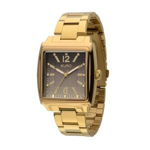 CLIQUE ➤➤ Relógio Euro Euro Premium Feminino Dourado Analógico EU2035LRX/4C   oferta com preço barato em Promoção no site de loja