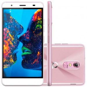 CLIQUE ➤➤ Smartphone Quantum MÜV 4G Desbloqueado Cherry Blossom Rosa   oferta com preço barato em Promoção no site de loja