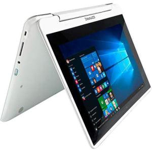 CLIQUE ➤➤ Notebook 2 em 1 Compaq Presario CQ360 Intel Dual Core 4GB 500GB Tela 11″ Windows 10 Touch – Branco   oferta com preço barato em Promoção no site de loja