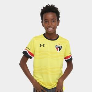 Oferta ➤ Camisa São Paulo Infantil III 16/17 s/nº Torcedor Under Armour   . Veja essa promoção