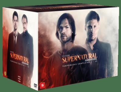CLIQUE ➤➤ DVD Coleção Supernatural – Temporadas Completas 1 A 10 – 59 Discos   oferta com preço barato em Promoção no site de loja