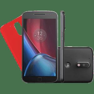 CLIQUE ➤➤ Smartphone Motorola Moto G 4 Plus Dual Chip Android 6.0 Tela 5.5 32GB Câmera 16MP – Preto   oferta com preço barato em Promoção no site de loja